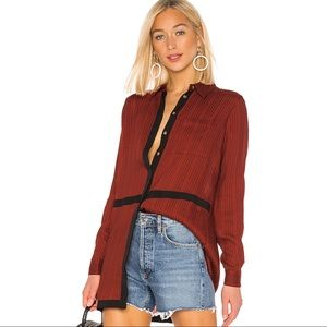 House of Harlow x Revolve • Marie Spice Blouse